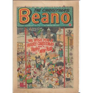 The Beano - 26th December 1970 - issue 1484