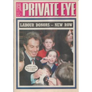 Private Eye - 12th January 2001 - issue 1019