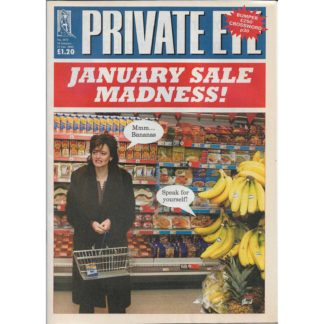 Private Eye - 10th January 2003 - issue 1071