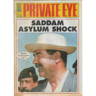 Private Eye - 24th January 2003 - issue 1072