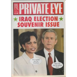 Private Eye - 4th February 2005 - issue 1125