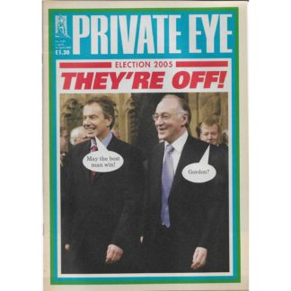 Private Eye - 1st April 2005 - issue 1129