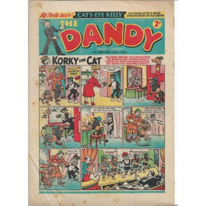 The Dandy - 23rd May 1953 - issue 600