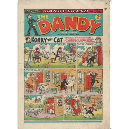 The Dandy - 18th July 1953 - issue 608