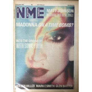 13th December 1986 - NME (New Musical Express)
