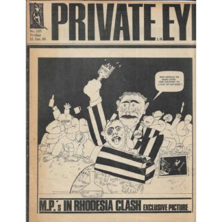 21st January 1966 - Private Eye magazine - issue 107
