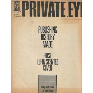 27th May 1966 - Private Eye magazine - issue 116