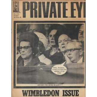 24th June 1966 - Private Eye magazine - issue 118