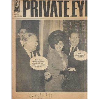 19th August 1966 - Private Eye magazine - issue 122