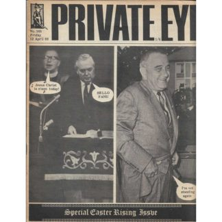 12th April 1968 - Private Eye magazine - issue 165