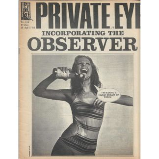 26th April 1968 - Private Eye magazine - issue 166