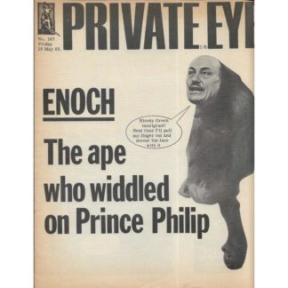 10th May 1968 - Private Eye magazine - issue 167