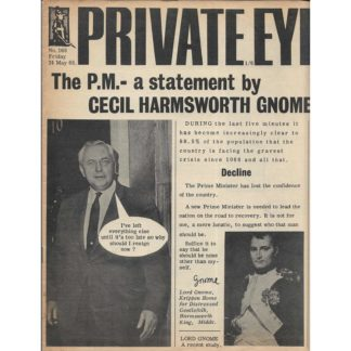 24th May 1968 - Private Eye - issue 168