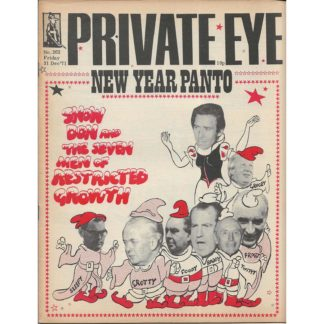 31st December 1971 - Private Eye magazine - issue 262