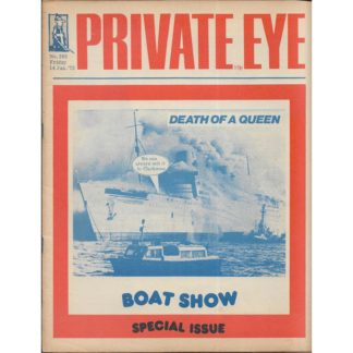 14th January 1972 - Private Eye magazine - issue 263