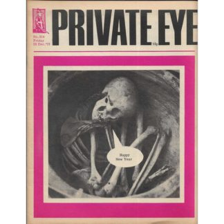 28th December 1973 - Private Eye magazine - issue 314