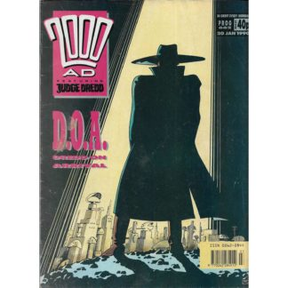 20th January 1990 - 2000 AD - issue 662