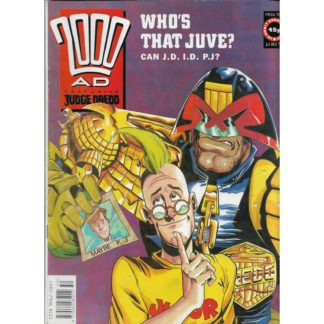 15th December 1990 - 2000 AD - issue 709
