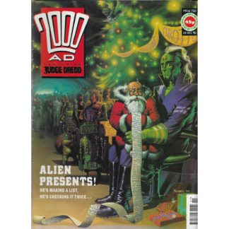 22nd December 1990 - 2000 AD - issue 710