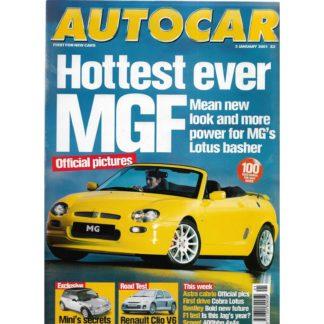 Autocar magazine - 3rd January 2001