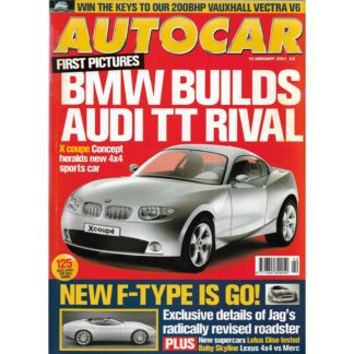 Autocar magazine - 10th January 2001