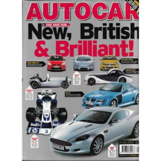 Autocar magazine - 24th February 2004
