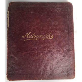1930's Autograph Book