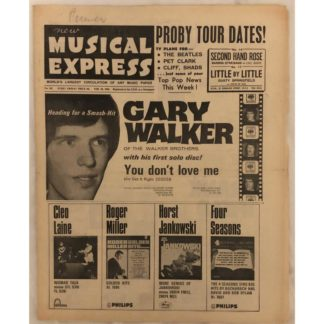 18th February 1966 - NME (New Musical Express)