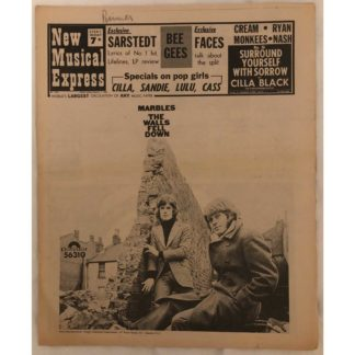 1st March1969 - NME (New Musical Express)