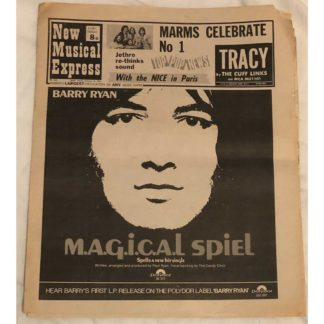 31st January 1970 - NME (New Musical Express)