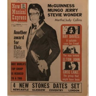 13th February 1972 - NME (New Musical Express)