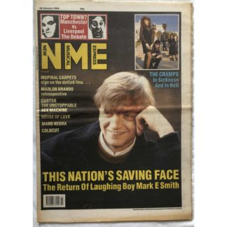20th January 1990 - NME (New Musical Express)