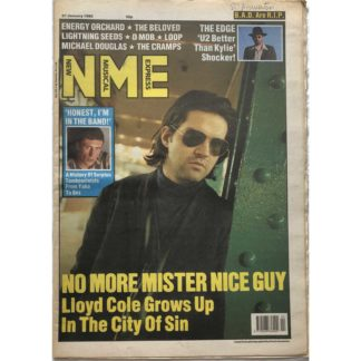 27th January 1990 - NME (New Musical Express)