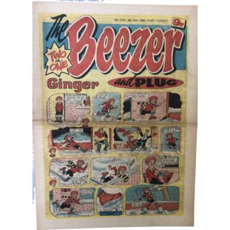 5th January 1980 - The Beezer and Plug - issue 1251