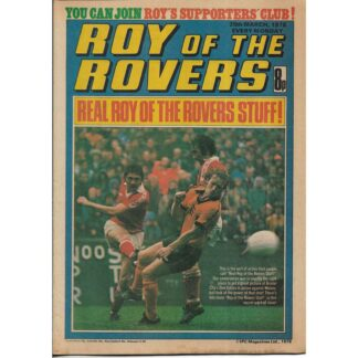 25th March 1978 - Roy Of The Rovers