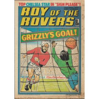 22nd April 1978 - Roy Of The Rovers