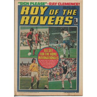 20th May 1978 - Roy Of The Rovers