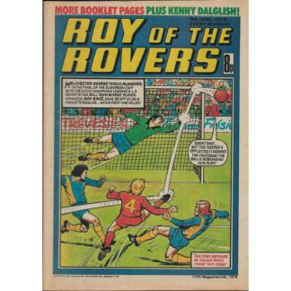 3rd June 1978 - Roy Of The Rovers