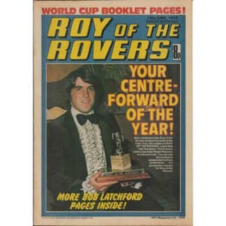 17th June 1978 - Roy Of The Rovers