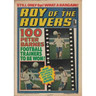 24th June 1978 - Roy Of The Rovers