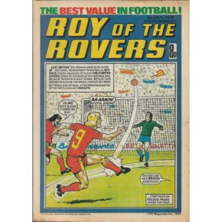 1st July 1978 - Roy Of The Rovers