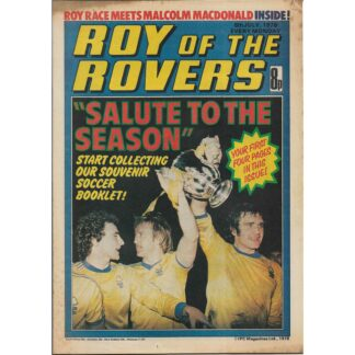 8th July 1978 - Roy Of The Rovers