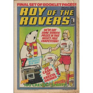 29th July 1978 - Roy Of The Rovers