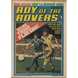 5th August 1978 - Roy Of The Rovers
