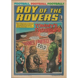 12th August 1978 - Roy Of The Rovers
