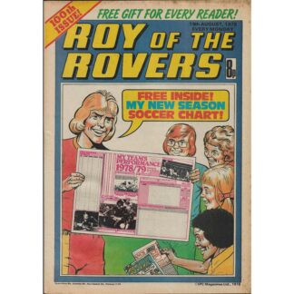 19th August 1978 - Roy Of The Rovers