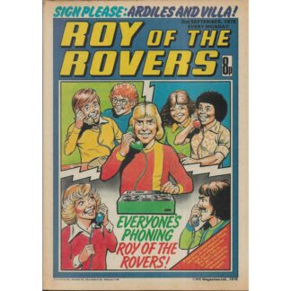 2nd September 1978 - Roy Of The Rovers