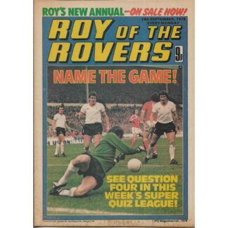 16th September 1978 - Roy Of The Rovers