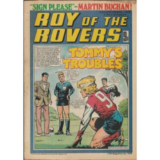 23rd September 1978 - Roy Of The Rovers