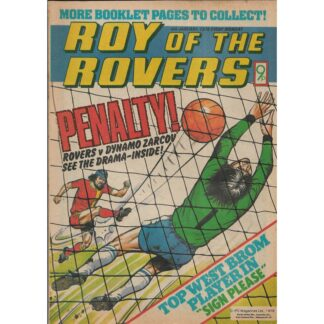 6th January 1979 - Roy Of The Rovers